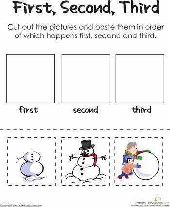 Sequencing Worksheet First Grade Sequencing Activities for Kindergarten Worksheets