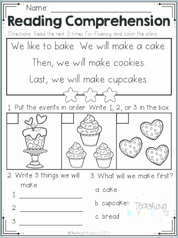 Sequencing Worksheet First Grade Sequencing events Worksheets for Grade 3