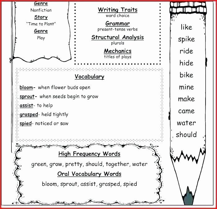 Sequencing Worksheet First Grade soil Worksheets for 1st Grade