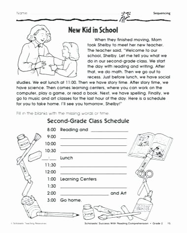 Sequencing Worksheets 2nd Grade order events Worksheets Sequencing Sequence Math 4th
