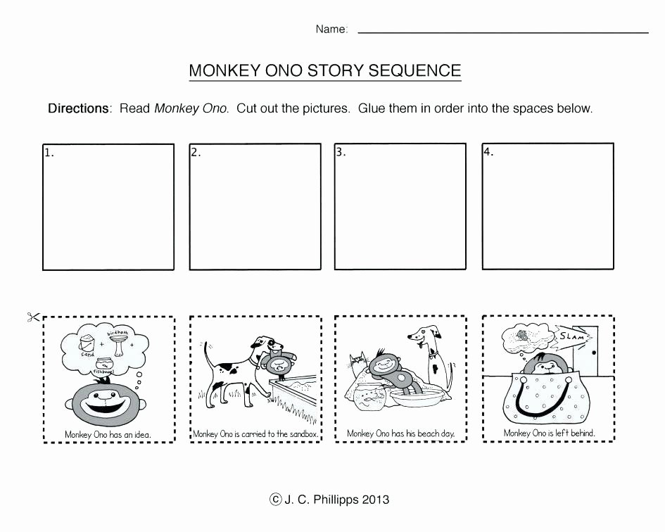 Sequencing Worksheets 2nd Grade Worksheets for Kids 2nd Grade