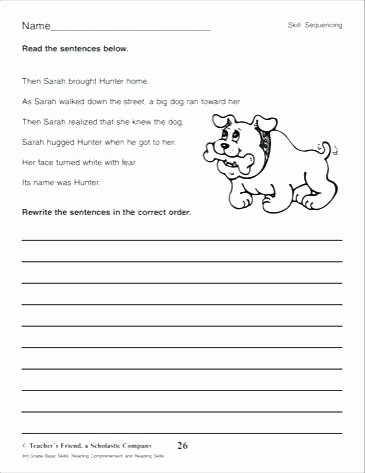 Sequencing Worksheets 2nd Grade Worksheets Resources Free Sequencing for Second Grade