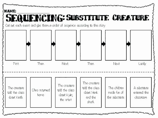 Sequencing Worksheets 4th Grade Sequencing Activities Worksheet for Kindergarten Pumpkin