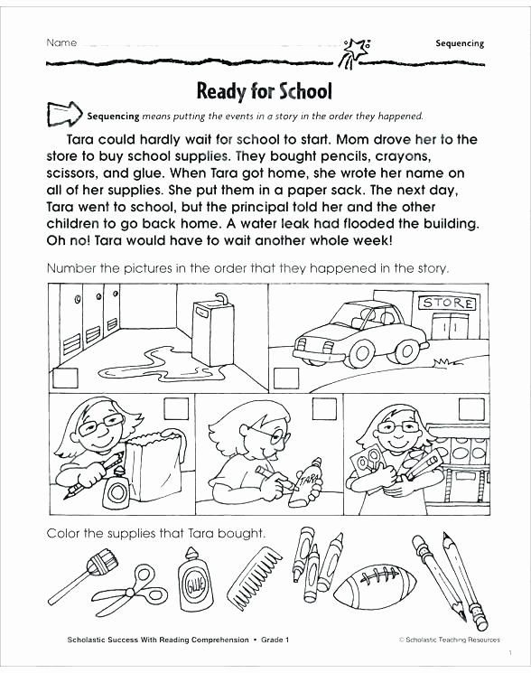 Sequencing Worksheets 5th Grade Regular Sequence About Para Free Story Sequencing