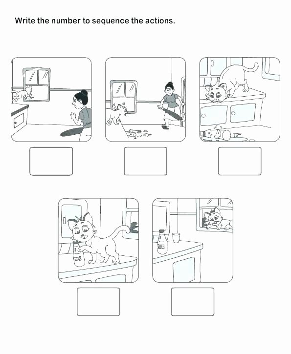 Sequencing Worksheets for 1st Grade Lesson Plan Point View 4 First Person Sequence events