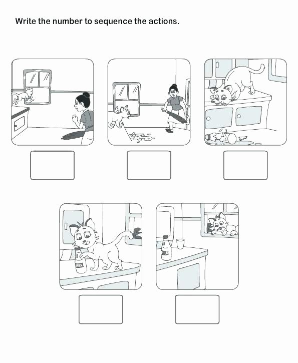 Sequencing Worksheets for 2nd Grade Sequence Of events Worksheets 2nd Grade