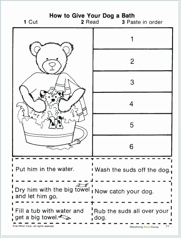 Sequencing Worksheets for 2nd Grade Sequencing Worksheets 4th Grade