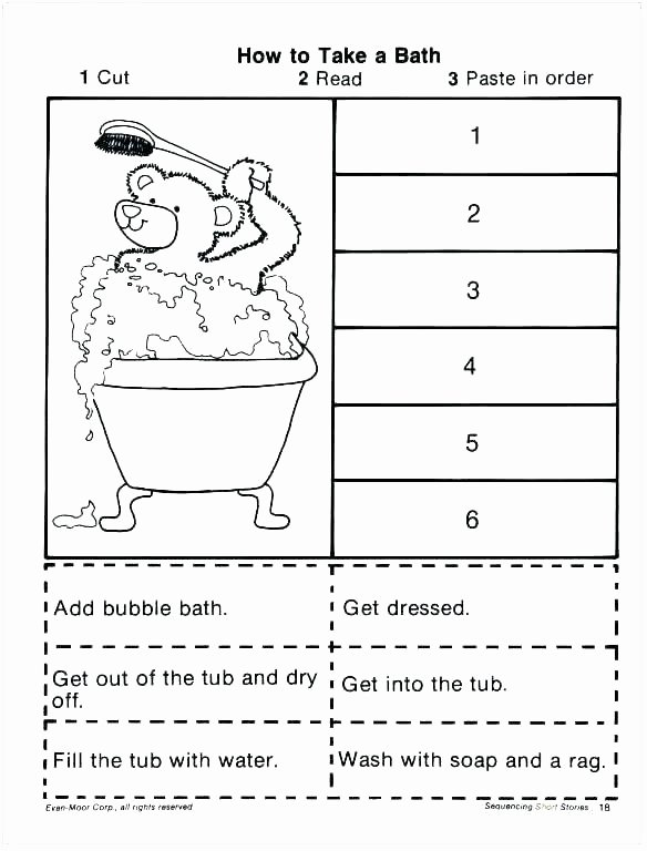 Sequencing Worksheets for 2nd Grade Sequencing Worksheets for Kindergarten Awesome Free Picture