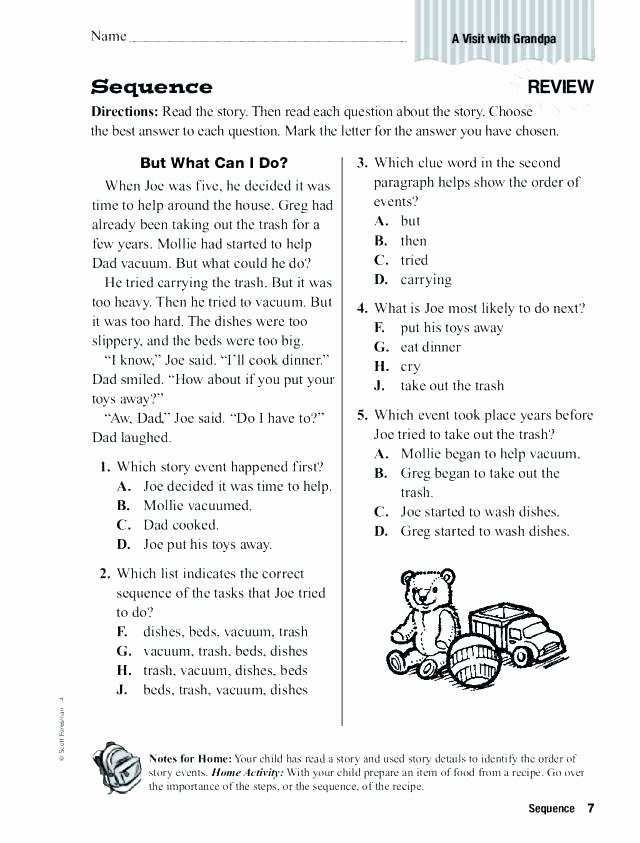 Sequencing Worksheets for 2nd Grade Story Sequencing Worksheets Pdf Sequence events