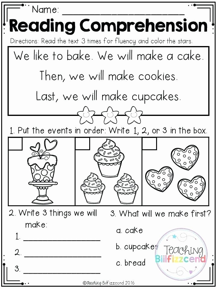 Sequencing Worksheets for Kindergarten Free Printable Story Books for Grade 1