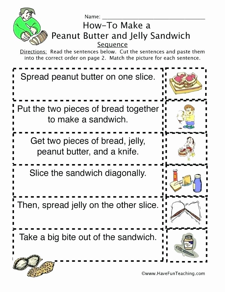 Sequencing Worksheets for Kindergarten Sequencing Worksheets Number Sequencing Worksheets