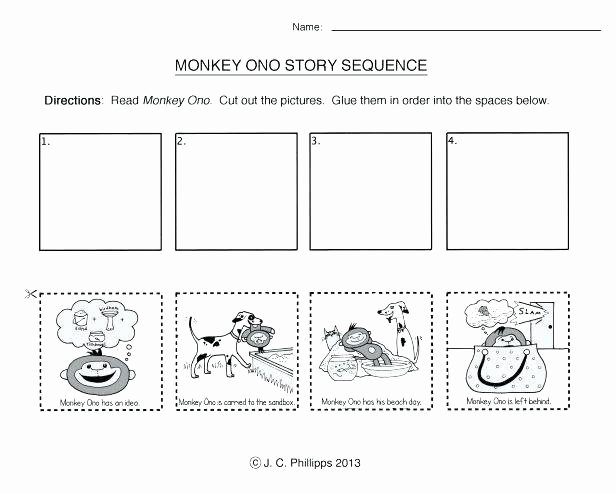 Sequencing Worksheets for Kindergarten Vaap Worksheets