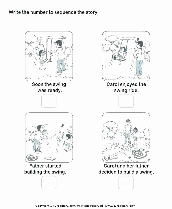 Sequencing Worksheets Kindergarten the Spider Worksheets for Kindergarten First Grade