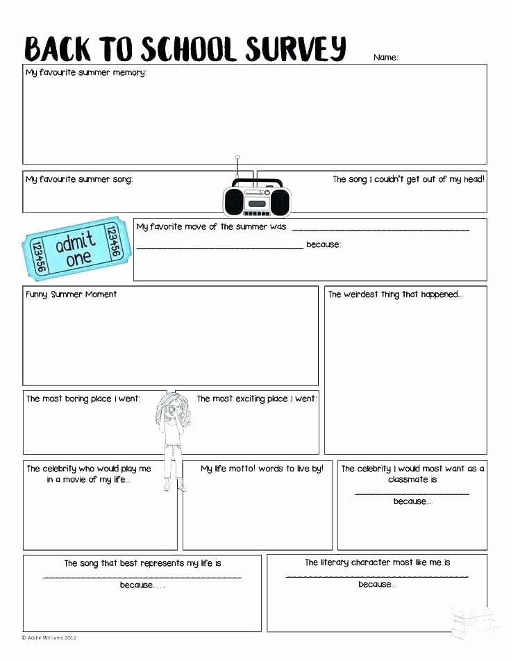 Sequencing Worksheets Middle School First Day School Worksheet Twisty Noodle My 2 Sheet