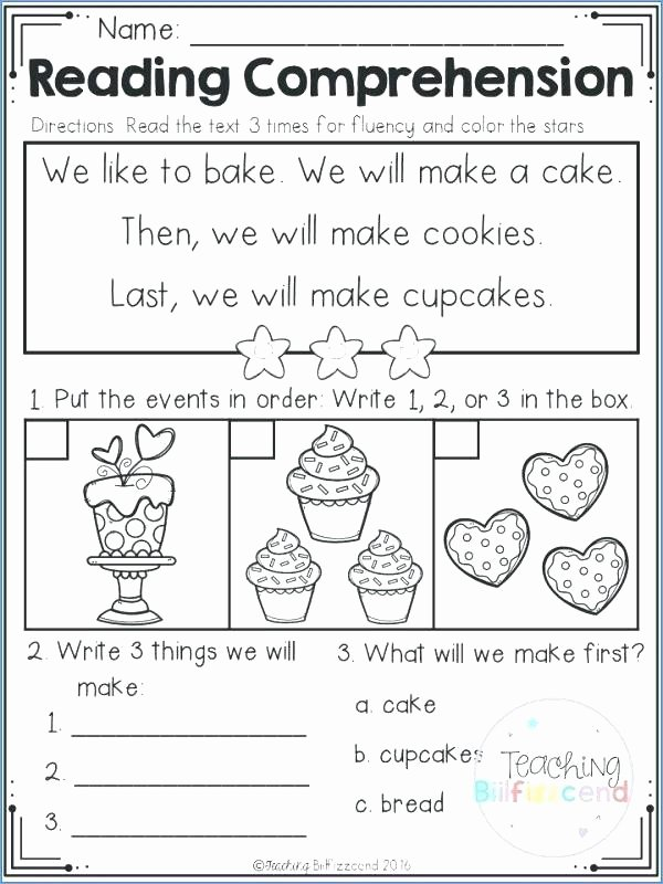 Sequencing Worksheets Middle School Free Printable Sequencing Worksheets 2nd Grade