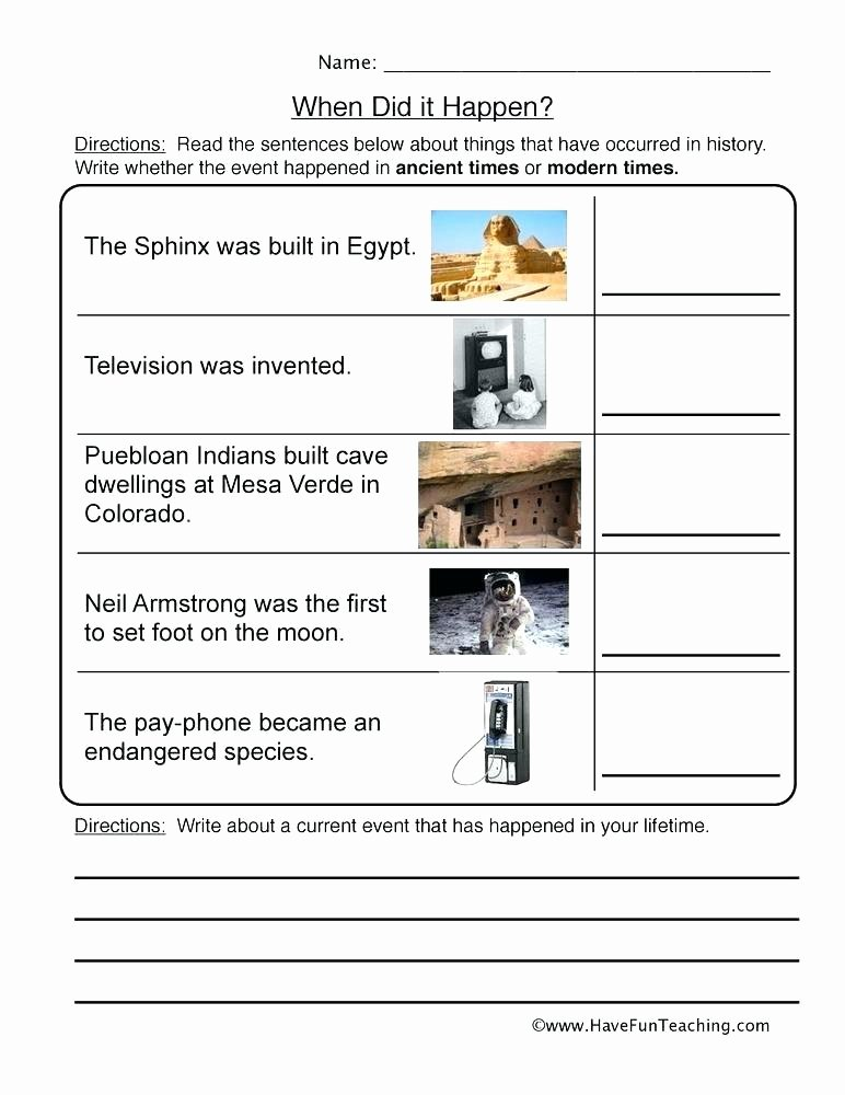 Sequencing Worksheets Middle School Newspaper Activities Worksheets