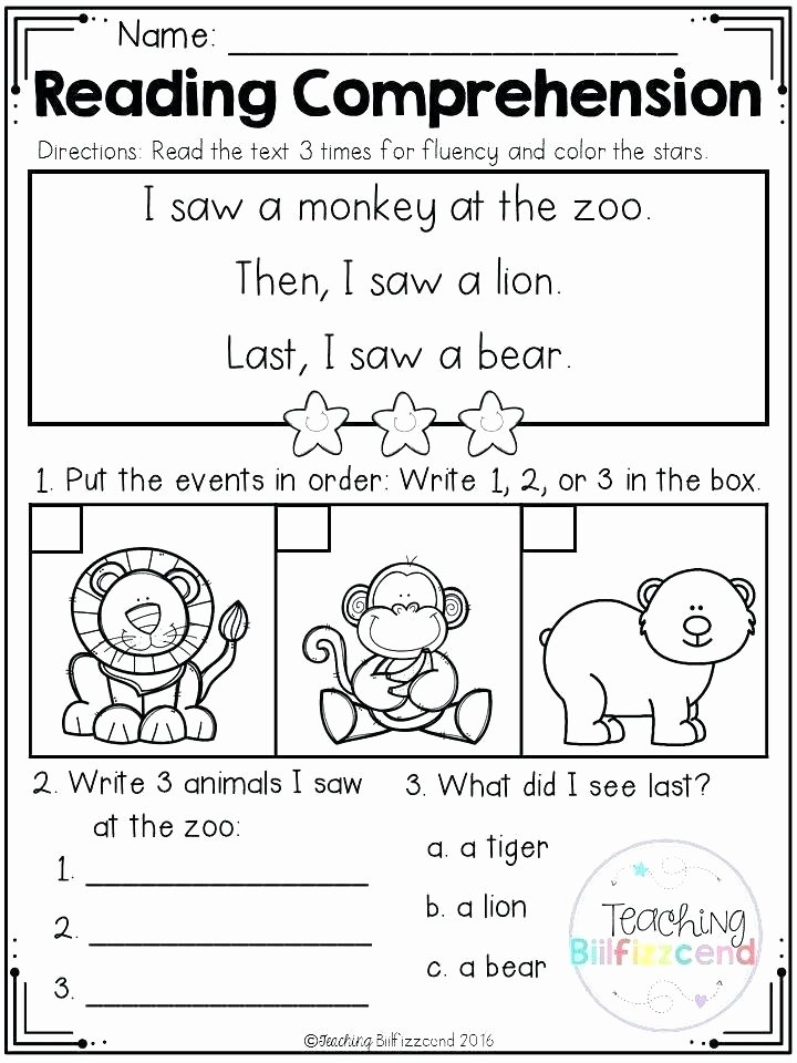 Sequencing Worksheets Middle School Reading Sequencing events Worksheets for Grade 2 Activities