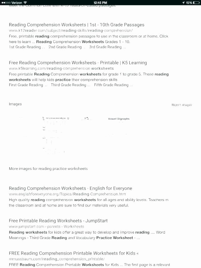 Seventh Grade Reading Comprehension Worksheets Year 7 Reading Prehension Worksheets