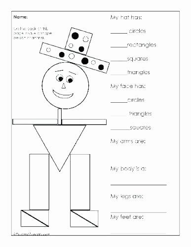 Shapes Worksheet for Kindergarten Coloring Shapes Worksheets for Kindergarten Basic Year 3