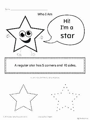 Shapes Worksheet for Kindergarten Learning Shapes Worksheets