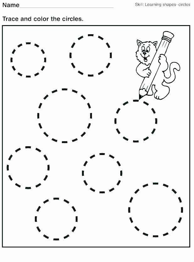 Shapes Worksheet for Kindergarten Shapes Coloring Worksheet – Sheela
