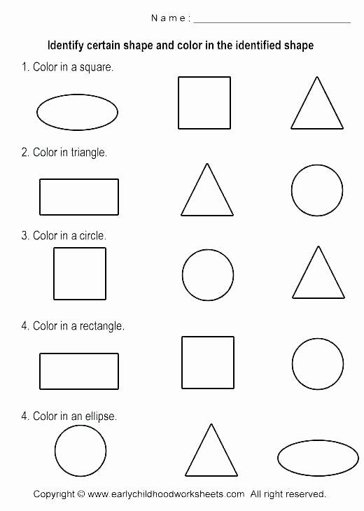 Shapes Worksheet for Kindergarten solid Figures Worksheets
