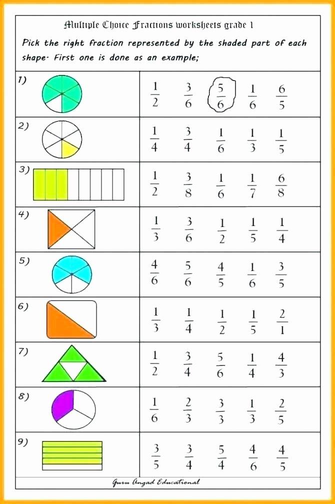 Shapes Worksheets 1st Grade Fraction Worksheets 1st Grade – Paintingmississauga