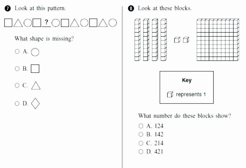 Shapes Worksheets 1st Grade Second Grade Shapes Worksheets