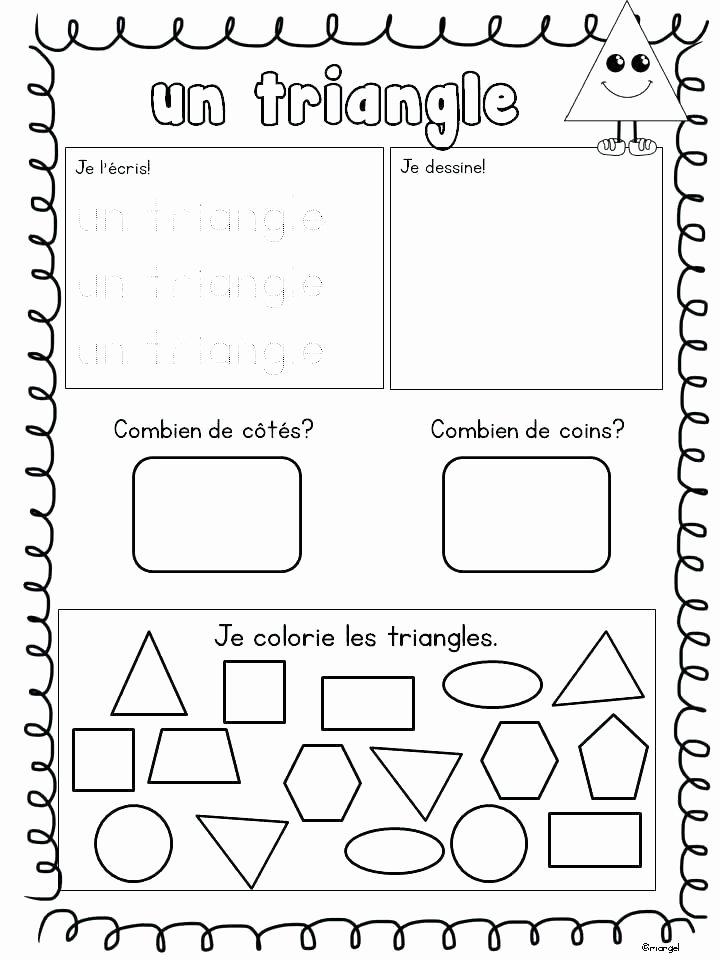 Shapes Worksheets 1st Grade Worksheets Shapes for Grade 1 Download them Print and