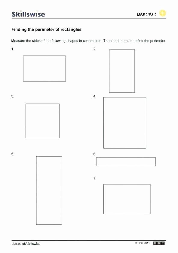Shapes Worksheets 2nd Grade Perimeter Worksheets 2nd Grade