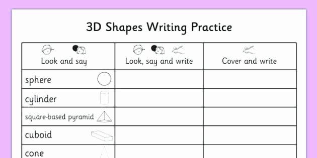 Shapes Worksheets for Kindergarten Pdf Geometry Shape Math Shapes Worksheets Grade 7 Worksheet 3d Pdf 2
