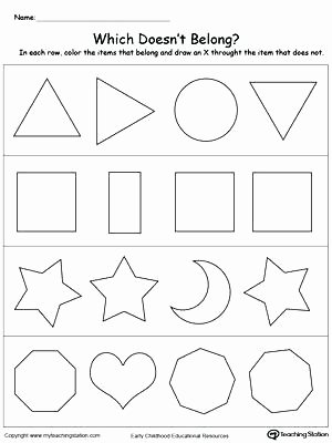 Shapes Worksheets for Kindergarten Pdf Shapes Tessellation Polygons Worksheet Worksheets