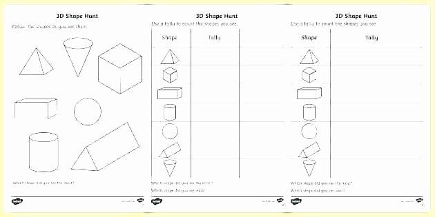 Shapes Worksheets for Kindergarten Pdf Shapes Worksheets for Kindergarten Coloring Geometric Shapes