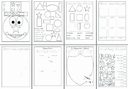 shapes worksheets for kindergarten two dimensional shapes worksheets shapes review worksheets kindergarten