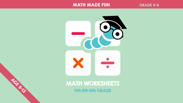 Shopping Math Worksheets Math Worksheets 4th 5th 6th Grade On the App Store