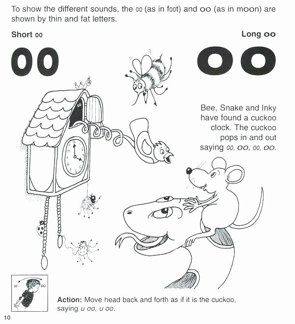 Short O Worksheets for Kindergarten Long U sound Oo