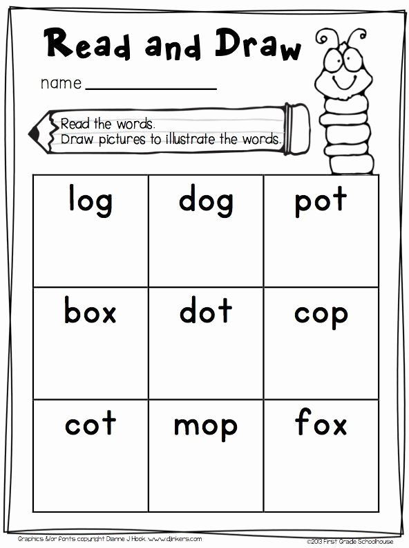 Short O Worksheets for Kindergarten Short O Word Work Activities Cvc Words Engaging and Fun