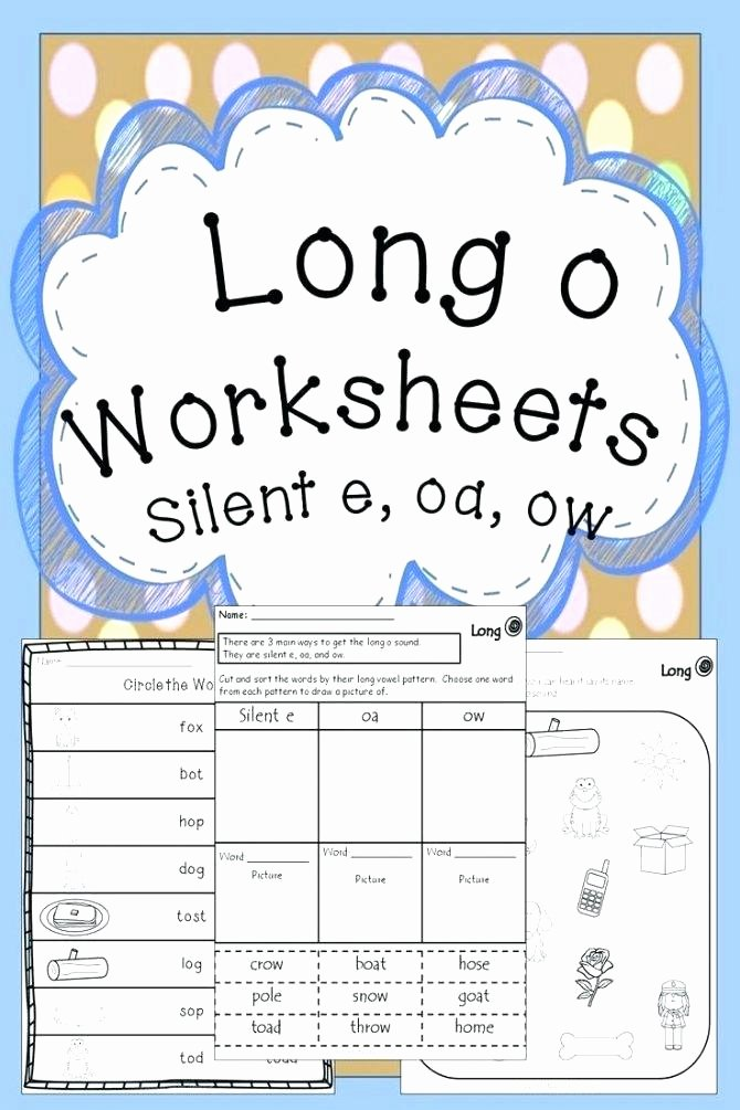 Short O Worksheets Free Long O Worksheets 2nd Grade Short Vowel Worksheets Page 2