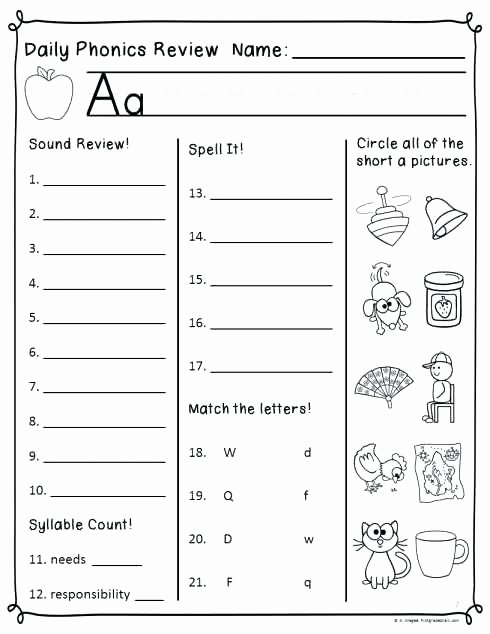 Short O Worksheets Free Vowel Worksheets Free