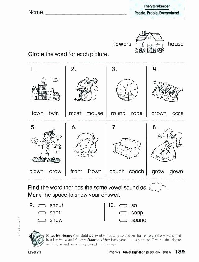 Short U Worksheets Pdf Long O Worksheets 2nd Grade