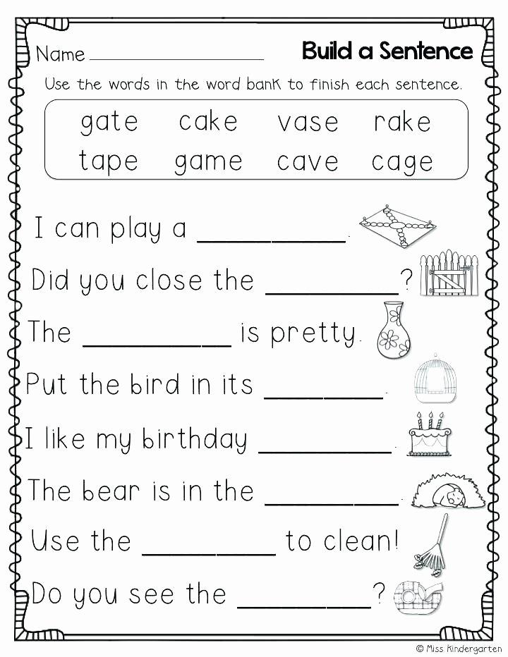 Short U Worksheets Pdf Long Vowel Worksheets Kindergarten
