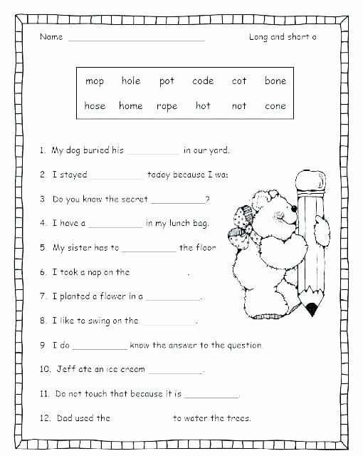 Short U Worksheets Pdf Short O Worksheets and G Vowel Flashcards A sound Worksheet