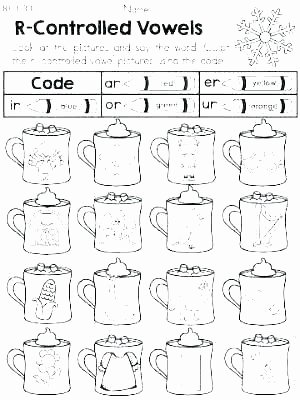 phonics r controlled vowels er worksheets grade hands on free vowel printable worksheet 1st