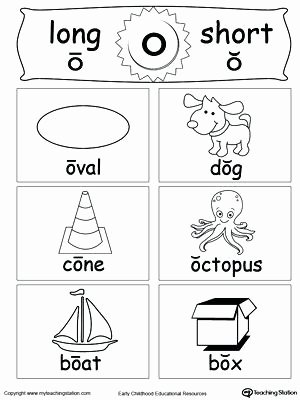 Short Vowel Worksheets 1st Grade Short and Long Vowel Flashcards O Free Worksheets 1st Grade