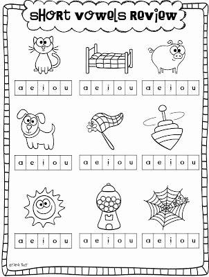 Short Vowel Worksheets 1st Grade Short Vowel O Worksheets Kindergarten