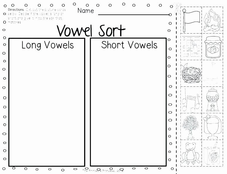 Short Vowel Worksheets 1st Grade Short Vowel Worksheets Free Long Vowels Worksheet 3 sounds