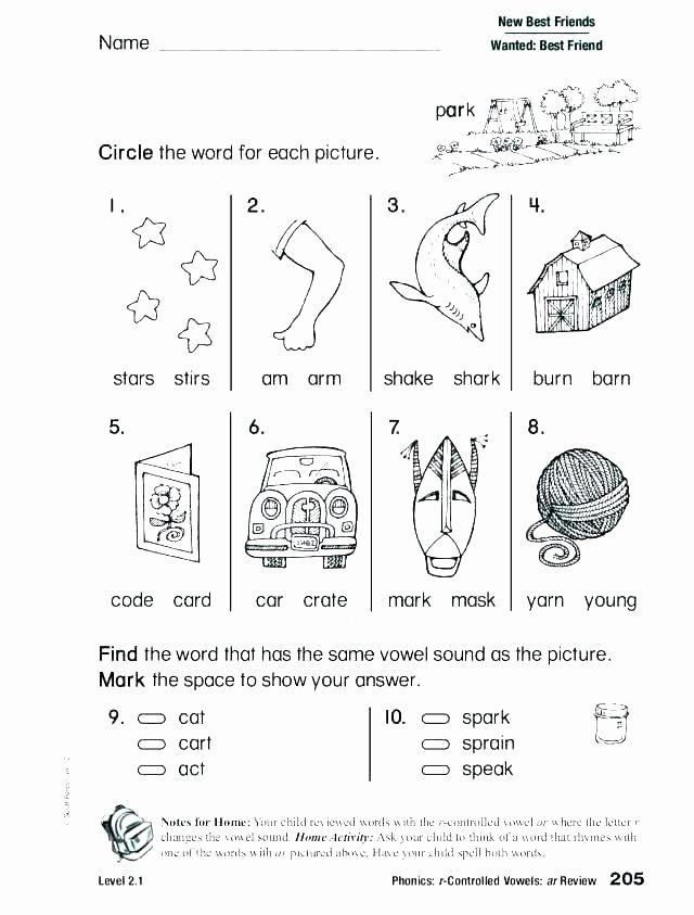 Short Vowel Worksheets 1st Grade Vowel Worksheets for Kindergarten Free Printable Short