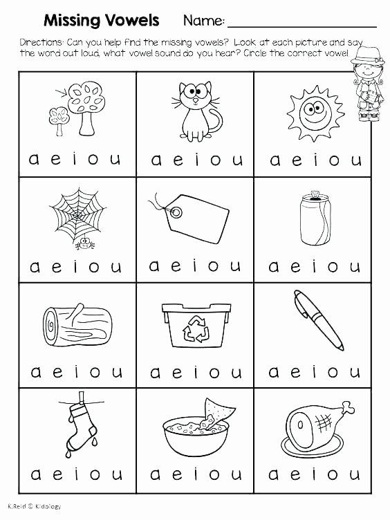 Short Vowel Worksheets 2nd Grade Short A Worksheets 2nd Grade Small Story Preschool Long and