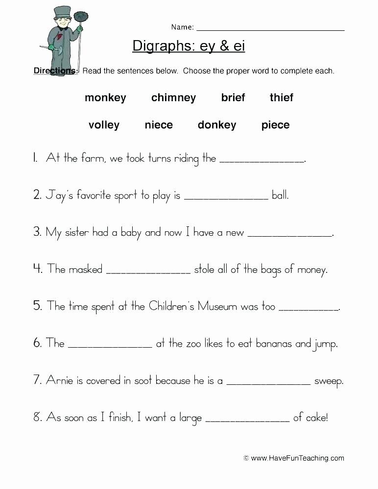 Short Vowel Worksheets 2nd Grade Vowel Digraphs Worksheets 2nd Grade