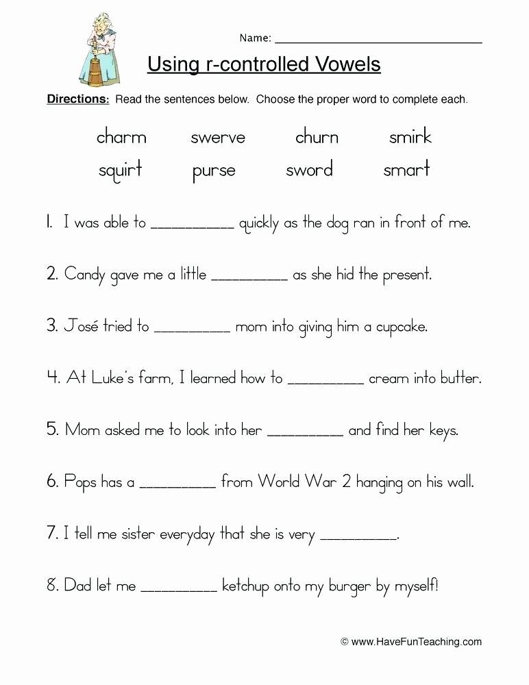 Short Vowel Worksheets 2nd Grade Vowels Worksheets for Grade 1 Long Short Vowels Worksheets